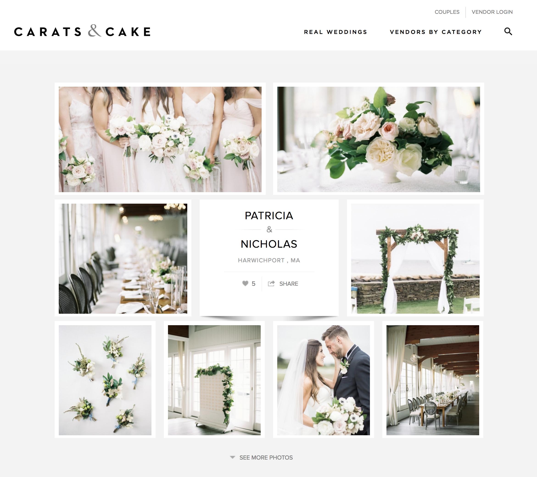 Carats & Cake - Patricia and Nicholas - New England Wedding